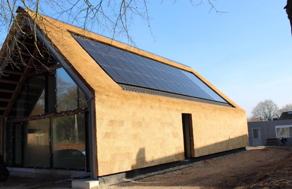 Rieten dak Lunteren