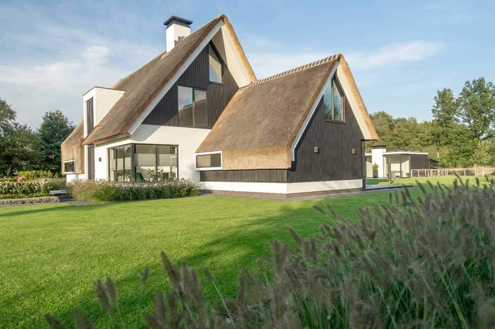 Rieten dak in Barneveld - Morren